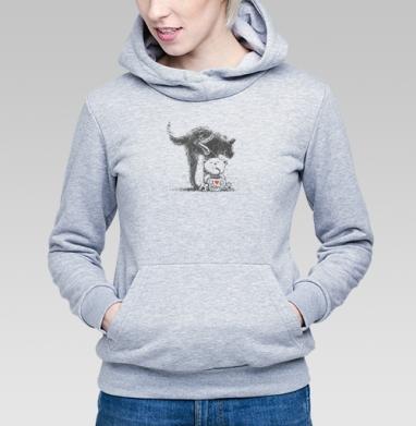 МИ-МИ ПИ-ПИ  - Купить детские толстовки с собаками в Москве, цена детских толстовок с собаками  с прикольными принтами - магазин дизайнерской одежды MaryJane