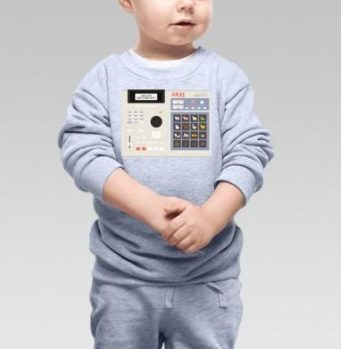 AKAI MPC for kids, Cвитшот Детский серый меланж