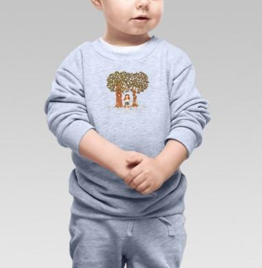 Фэйри - Купить детские свитшоты с деревьями в Москве, цена детских свитшотов с деревьями  с прикольными принтами - магазин дизайнерской одежды MaryJane