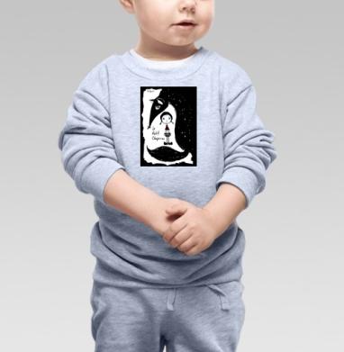 Красная Шапочка (Little Red Riding Hood) - Купить детские свитшоты с волками в Москве, цена детских свитшотов с волками  с прикольными принтами - магазин дизайнерской одежды MaryJane