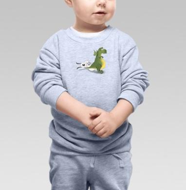 Рождение символа 2012 года, Cвитшот Детский серый меланж