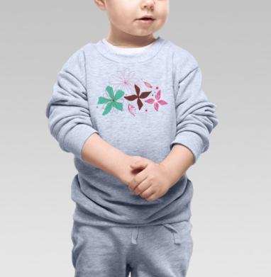 В летнем воздухе - Купить детские свитшоты абстрактные в Москве, цена детских свитшотов абстрактных  с прикольными принтами - магазин дизайнерской одежды MaryJane