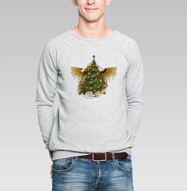 Стимпанк ёлочка - Купить мужские свитшоты Новый год в Москве, цена мужских свитшотов новогодних  с прикольными принтами - магазин дизайнерской одежды MaryJane
