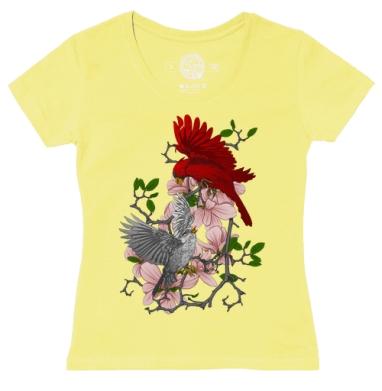 Футболка женская желтая, желтый - Интернет-магазин женских футболок. Купите женские футболки сегодня.