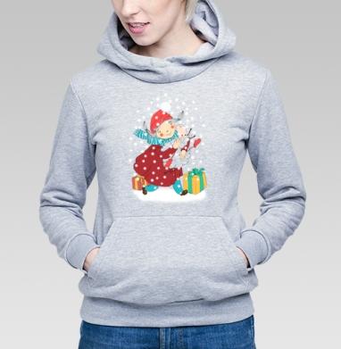 Друзья - Купить детские толстовки Новый год в Москве, цена детских толстовок новогодних  с прикольными принтами - магазин дизайнерской одежды MaryJane
