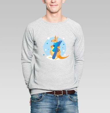 Я люблю сноуборд - Купить мужские свитшоты спортивные в Москве, цена мужских  спортивных  с прикольными принтами - магазин дизайнерской одежды MaryJane