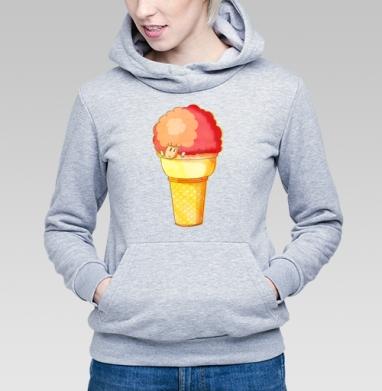 Мороженка  - Купить детские толстовки с мороженным в Москве, цена детских толстовок с мороженным  с прикольными принтами - магазин дизайнерской одежды MaryJane