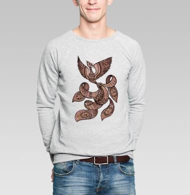 Встреча с жар-птицей - Купить мужские свитшоты этно в Москве, цена мужских  этно  с прикольными принтами - магазин дизайнерской одежды MaryJane
