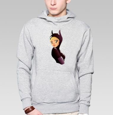 Женщина-кошка - Толстовка супермен мужская