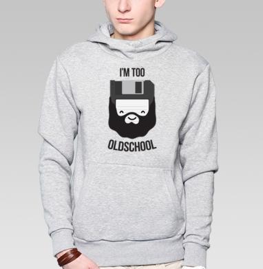 ОЛДСКУЛ - Купить мужские толстовки ретро в Москве, цена мужских толстовок ретро  с прикольными принтами - магазин дизайнерской одежды MaryJane