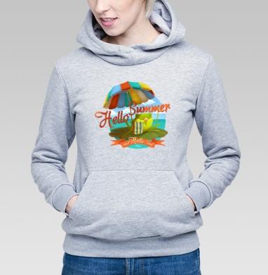 Hello Summer & Hello Sea! - Купить детские толстовки с солнцем в Москве, цена детских толстовок с солнцем с прикольными принтами - магазин дизайнерской одежды MaryJane