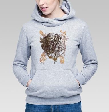 Бизон - Купить детские толстовки с индейцами в Москве, цена детских толстовок с индейцами  с прикольными принтами - магазин дизайнерской одежды MaryJane