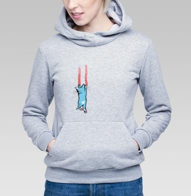 Царапка - Купить детские толстовки с усами в Москве, цена детских толстовок с усами с прикольными принтами - магазин дизайнерской одежды MaryJane