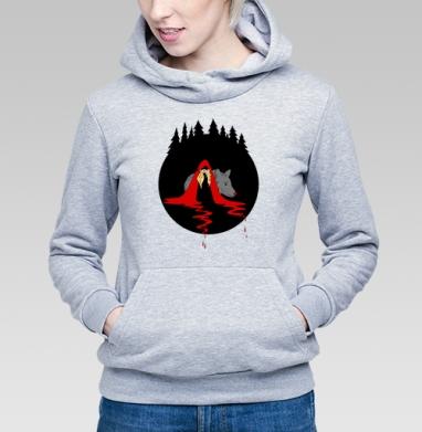 Cute red riding hood - Купить детские толстовки со сказками в Москве, цена детских толстовок со сказками  с прикольными принтами - магазин дизайнерской одежды MaryJane