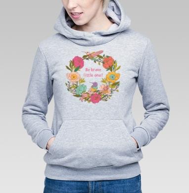 Цветочный орнамент с птицами и цветами - Купить детские толстовки с илюстрациями в Москве, цена детских толстовок с илюстрациями  с прикольными принтами - магазин дизайнерской одежды MaryJane