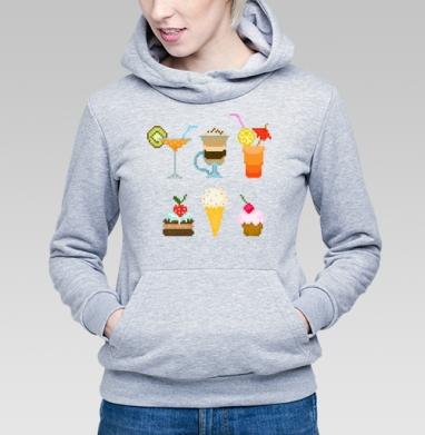Десерт - Купить детские толстовки с мороженным в Москве, цена детских толстовок с мороженным  с прикольными принтами - магазин дизайнерской одежды MaryJane