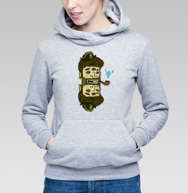 Double pirate - Купить детские толстовки с пиратом в Москве, цена детских толстовок пиратских с прикольными принтами - магазин дизайнерской одежды MaryJane