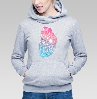 Дудлосердце - Купить детские толстовки абстрактные в Москве, цена детских толстовок абстрактных  с прикольными принтами - магазин дизайнерской одежды MaryJane