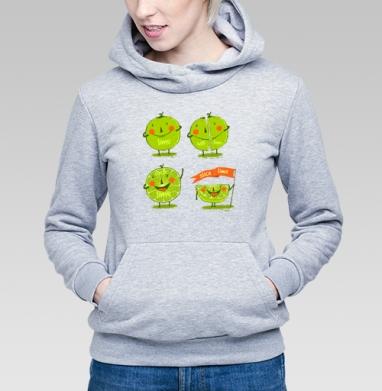 Эмоции лайма - Купить детские толстовки со смайлами в Москве, цена детских толстовок со смайлами с прикольными принтами - магазин дизайнерской одежды MaryJane