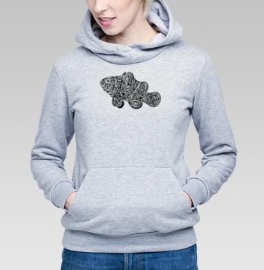 Fish Abstract  - Купить детские толстовки с символами в Москве, цена детских толстовок с символом с прикольными принтами - магазин дизайнерской одежды MaryJane