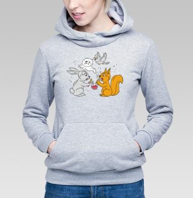 Funny friends - Купить детские толстовки с нотами в Москве, цена детских толстовок с нотами  с прикольными принтами - магазин дизайнерской одежды MaryJane