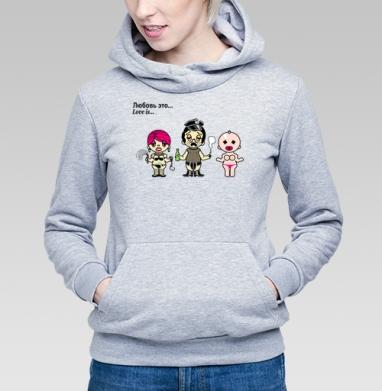 Футболки Love is...№4 парные - Купить детские толстовки секс в Москве, цена детских толстовок секс  с прикольными принтами - магазин дизайнерской одежды MaryJane