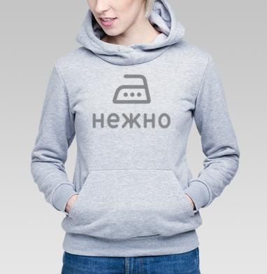 Гладить нежно - Купить детские толстовки нежность в Москве, цена детских толстовок нежность  с прикольными принтами - магазин дизайнерской одежды MaryJane