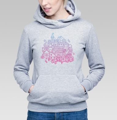 ГОРОДОК - Купить детские толстовки с городами в Москве, цена детских толстовок с городами  с прикольными принтами - магазин дизайнерской одежды MaryJane