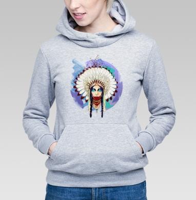 Greed - Купить детские толстовки с индейцами в Москве, цена детских толстовок с индейцами  с прикольными принтами - магазин дизайнерской одежды MaryJane
