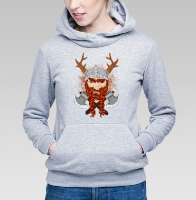 Грозный викинг - Купить детские толстовки с усами в Москве, цена детских толстовок с усами с прикольными принтами - магазин дизайнерской одежды MaryJane