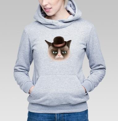 Грустнячи котег - Купить детские толстовки с кошками в Москве, цена детских толстовок с кошками  с прикольными принтами - магазин дизайнерской одежды MaryJane