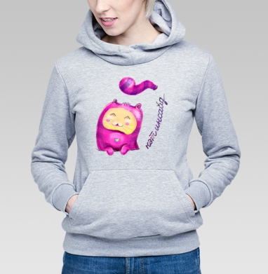Кэт инсайд - Купить детские толстовки романтика в Москве, цена детских толстовок романтических  с прикольными принтами - магазин дизайнерской одежды MaryJane