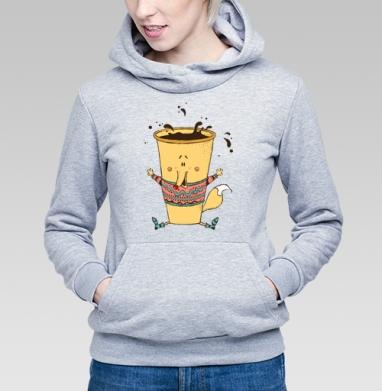 Кофе-лис - Купить детские толстовки хипстерские в Москве, цена детских толстовок хипстерских  с прикольными принтами - магазин дизайнерской одежды MaryJane