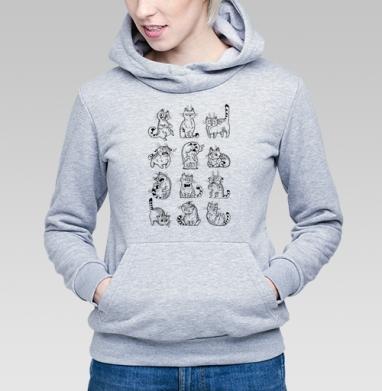 Кот Макс - Купить детские толстовки с графикой в Москве, цена детских толстовок с графикой  с прикольными принтами - магазин дизайнерской одежды MaryJane