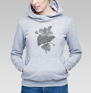 Liver&flowers - Купить детские толстовки с любовью в Москве, цена детских толстовок с любовью  с прикольными принтами - магазин дизайнерской одежды MaryJane