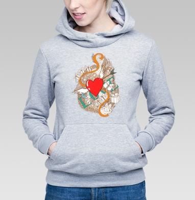 Любовь - Купить детские толстовки с подарком в Москве, цена детских толстовок с подарками  с прикольными принтами - магазин дизайнерской одежды MaryJane