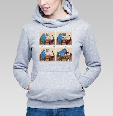 Монстры не любят проигрывать! - Купить детские толстовки с мороженным в Москве, цена детских толстовок с мороженным  с прикольными принтами - магазин дизайнерской одежды MaryJane