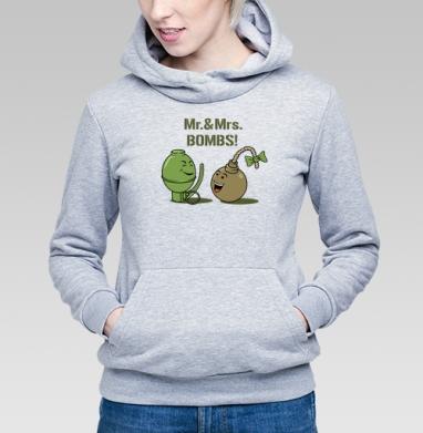 Mr. & Mrs. BOMBS! - Купить детские толстовки военные в Москве, цена детских толстовок военных с прикольными принтами - магазин дизайнерской одежды MaryJane