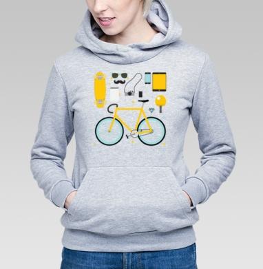 НАБОР ХИПСТЕРА - Купить детские толстовки с велосипедом в Москве, цена детских толстовок с велосипедом  с прикольными принтами - магазин дизайнерской одежды MaryJane