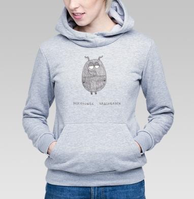 Носорожек задолбался - Купить детские толстовки с программистом в Москве, цена детских толстовок с программистом с прикольными принтами - магазин дизайнерской одежды MaryJane