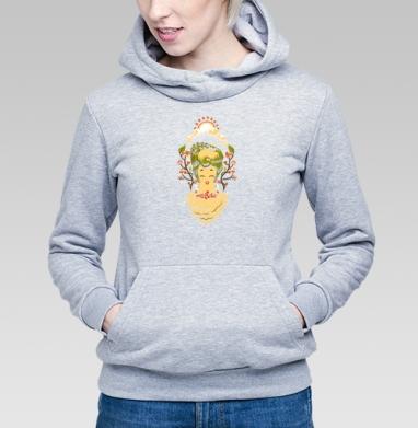 Песнь леса - Купить детские толстовки с грибами в Москве, цена детских толстовок с грибами с прикольными принтами - магазин дизайнерской одежды MaryJane