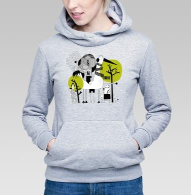 Прогулка - Купить детские толстовки абстрактные в Москве, цена детских толстовок абстрактных  с прикольными принтами - магазин дизайнерской одежды MaryJane