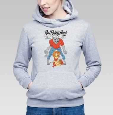 Red Riding Hood - Купить детские толстовки с волками в Москве, цена детских толстовок с волками  с прикольными принтами - магазин дизайнерской одежды MaryJane