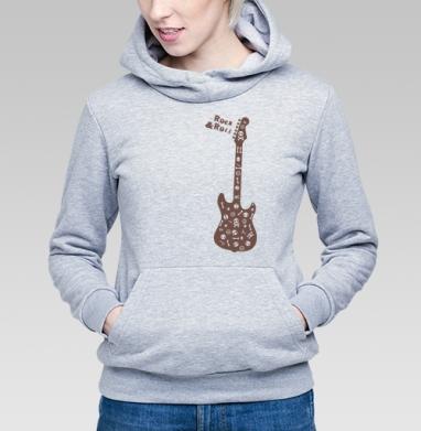 Rock&Roll - Купить детские толстовки музыка в Москве, цена детских толстовок музыкальных  с прикольными принтами - магазин дизайнерской одежды MaryJane