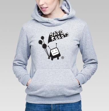 Save robots - Купить детские толстовки с роботами в Москве, цена детских  с роботами  с прикольными принтами - магазин дизайнерской одежды MaryJane