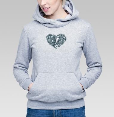 Сердце-букет - Купить детские толстовки паттерн в Москве, цена детских толстовок с паттерном  с прикольными принтами - магазин дизайнерской одежды MaryJane
