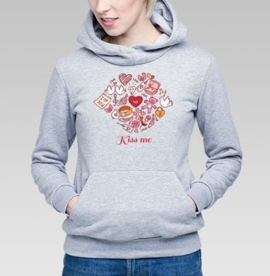 СЛАДКИЙ ЧМОК - Купить детские толстовки романтика в Москве, цена детских толстовок романтических  с прикольными принтами - магазин дизайнерской одежды MaryJane