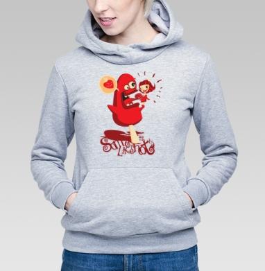 Some Like It Hot - Купить детские толстовки с мороженным в Москве, цена детских толстовок с мороженным  с прикольными принтами - магазин дизайнерской одежды MaryJane