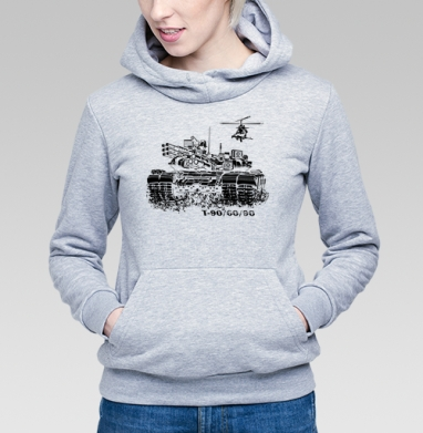 T-90/60/90 - Купить детские толстовки военные в Москве, цена детских толстовок военных с прикольными принтами - магазин дизайнерской одежды MaryJane