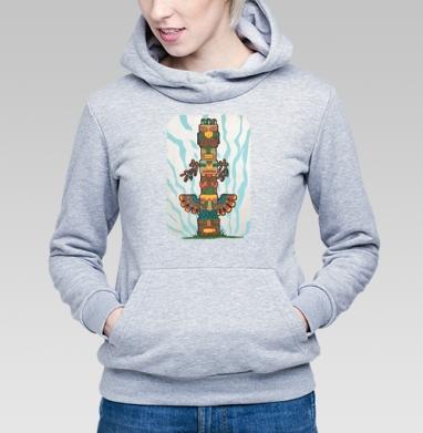 Тотем - Купить детские толстовки с индейцами в Москве, цена детских толстовок с индейцами  с прикольными принтами - магазин дизайнерской одежды MaryJane